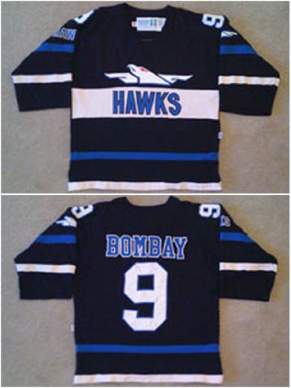 Find More Sports Jerseys Information about Movie Worn The Mighty Ducks 1973  Hawks 9 60394baa0dd