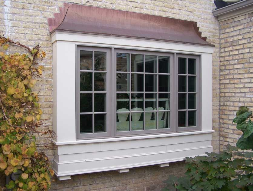 Building a bay window box great box bay window design for Exterior window design