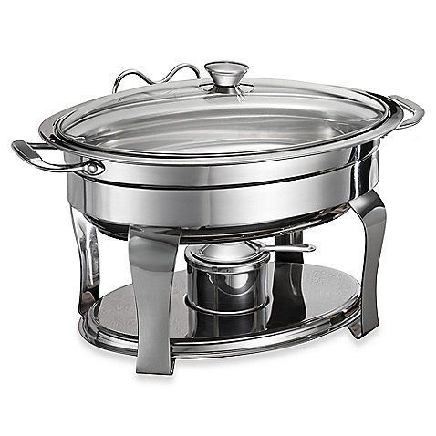 This Versatile Stainless Steel Chafing Dish Provides An Elegant