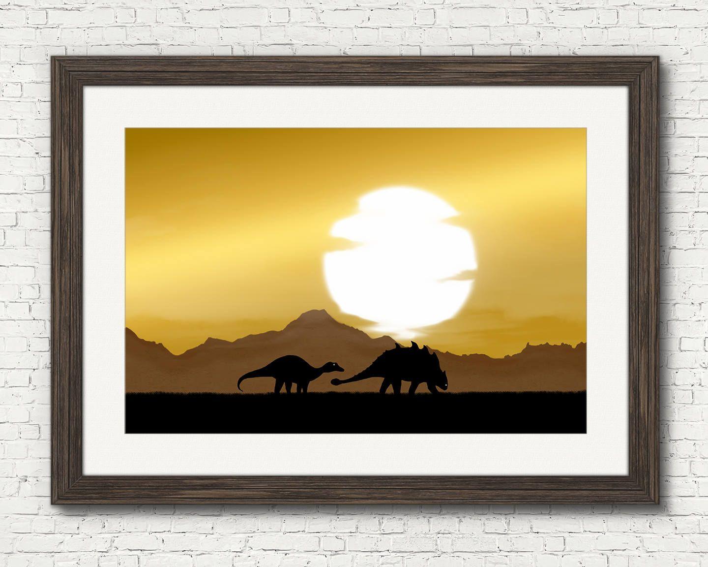 Dinosaur digital download, dinosaurs deco, dinosaur wall decor ...