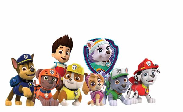 Los personajes de la patrulla canina paw patrol - Imagenes de la patrulla canina ...