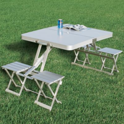 Cabela S Easy Set Camper S Kitchen Picnic Table Camping Table Camp Furniture