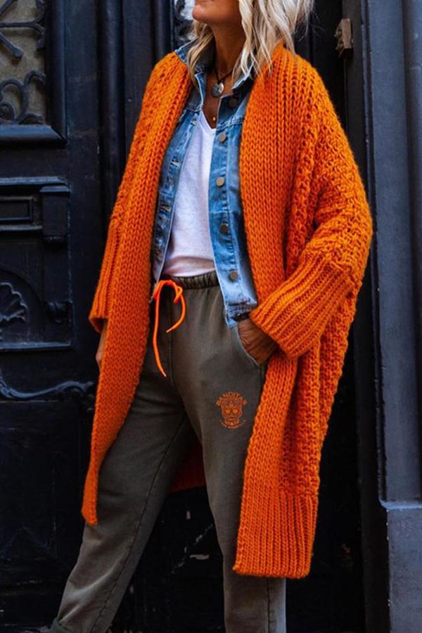 Long Sleeve Long Women's Sweater