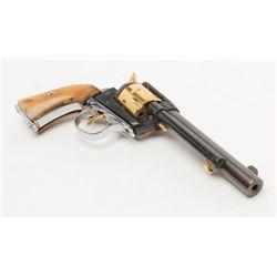 fie single action frankenstein parts gun f02645 22 cal blued