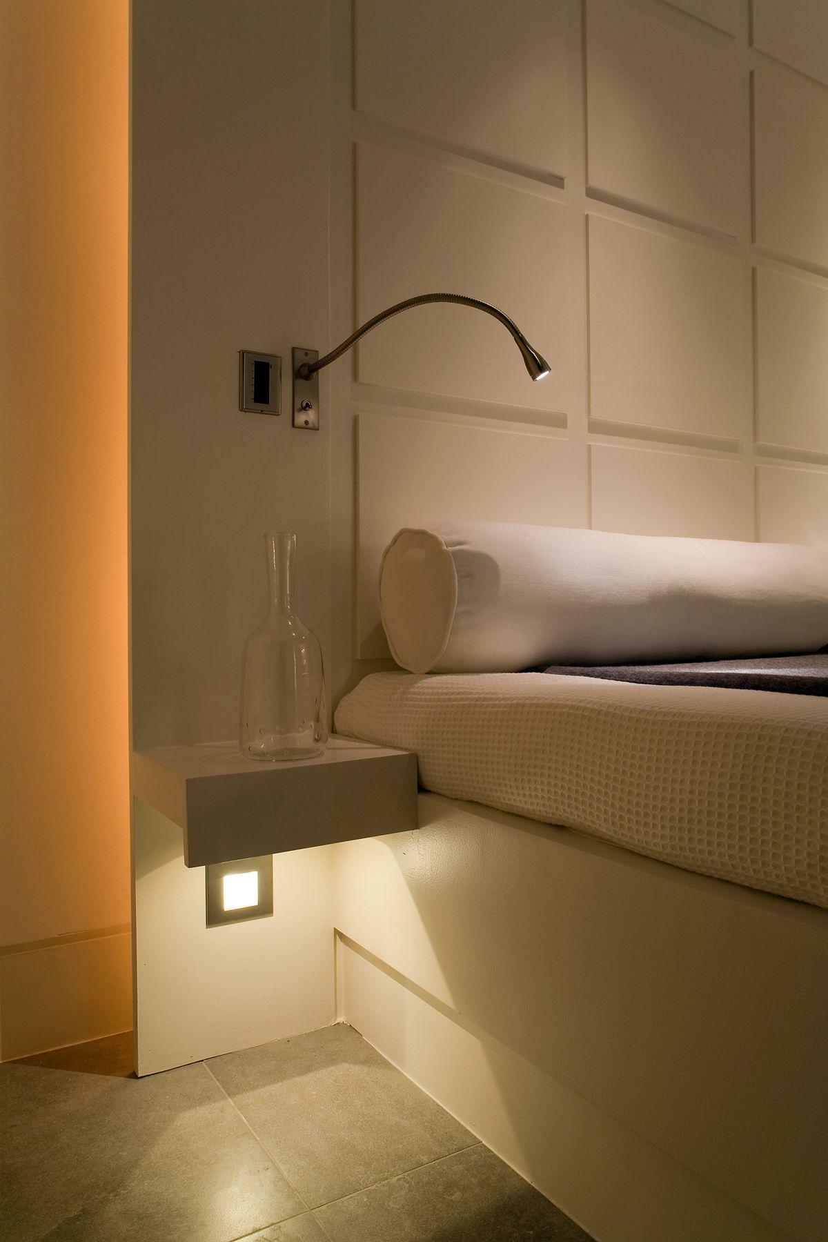 Lighting design by John Cullen Lighting Bedroom reading