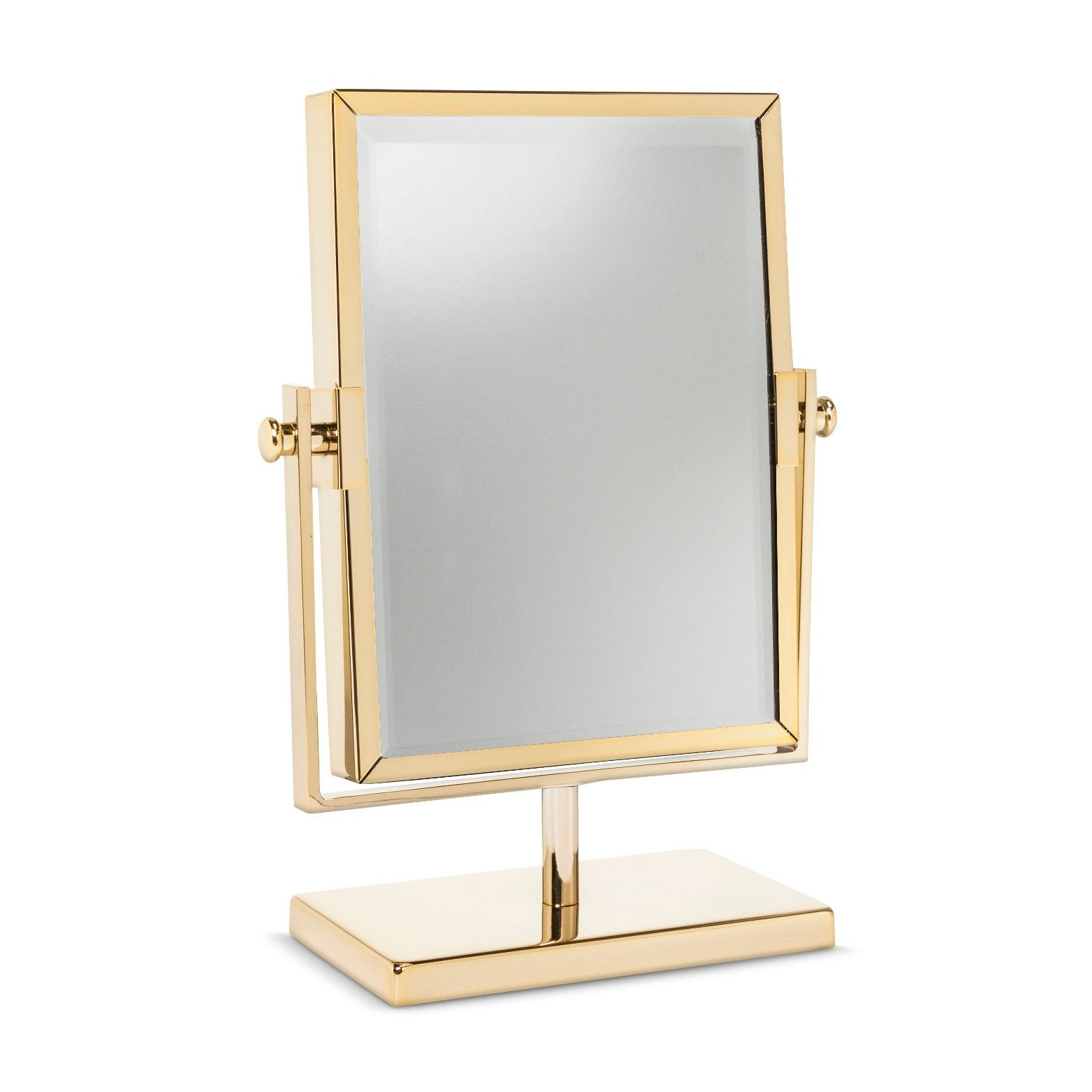 The West Emory Two Sided Gold Vanity Mirror Is A Definite Showstopper It Features A Gorgeous Golden Gold Vanity Mirror Gold Bathroom Accessories Vanity Mirror