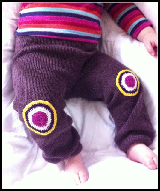 Håndlavet Karma - knitted trousers in organic wool from BC garn.