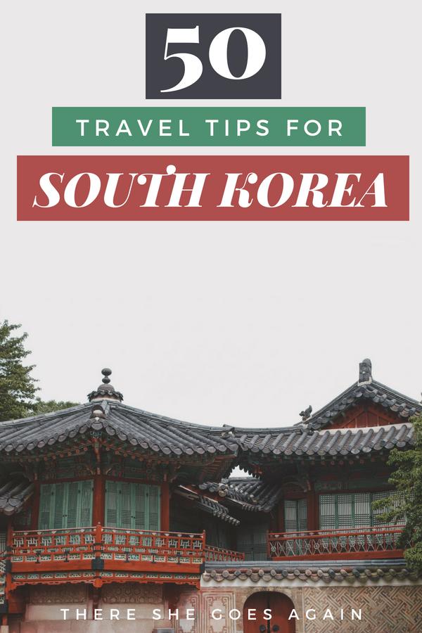 50 South Korea Travel Tips South Korea Travel Korea Travel Travel Tips