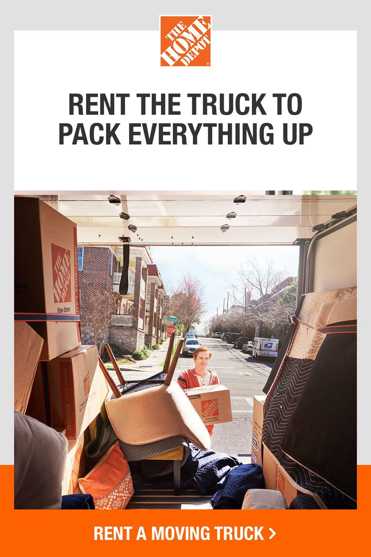 Home Depot Box Truck Rental : depot, truck, rental, Easier, Depot., Depot,, Moving, Supplies,, Homeowner, Essentials