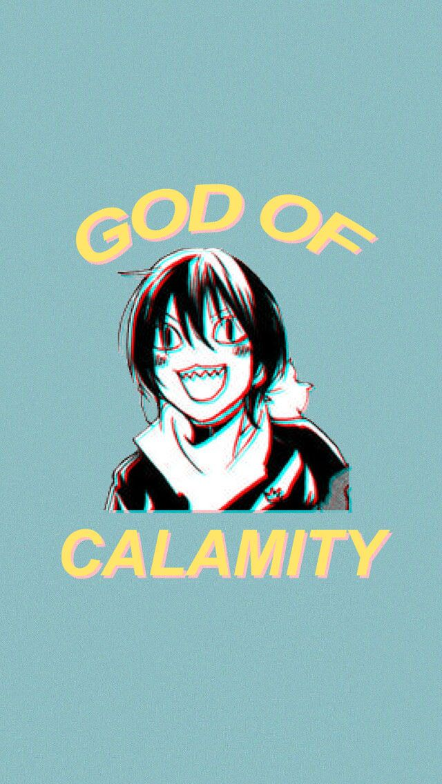 Noragami Yato God of Calamity Sticker by koolpingu