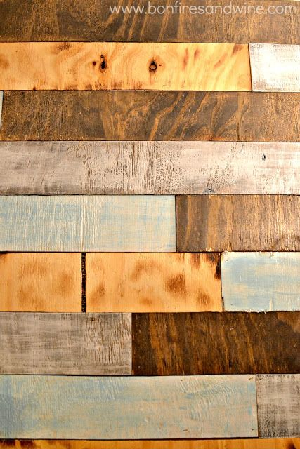 Pallet Plank Bathroom Wall :: Hometalk