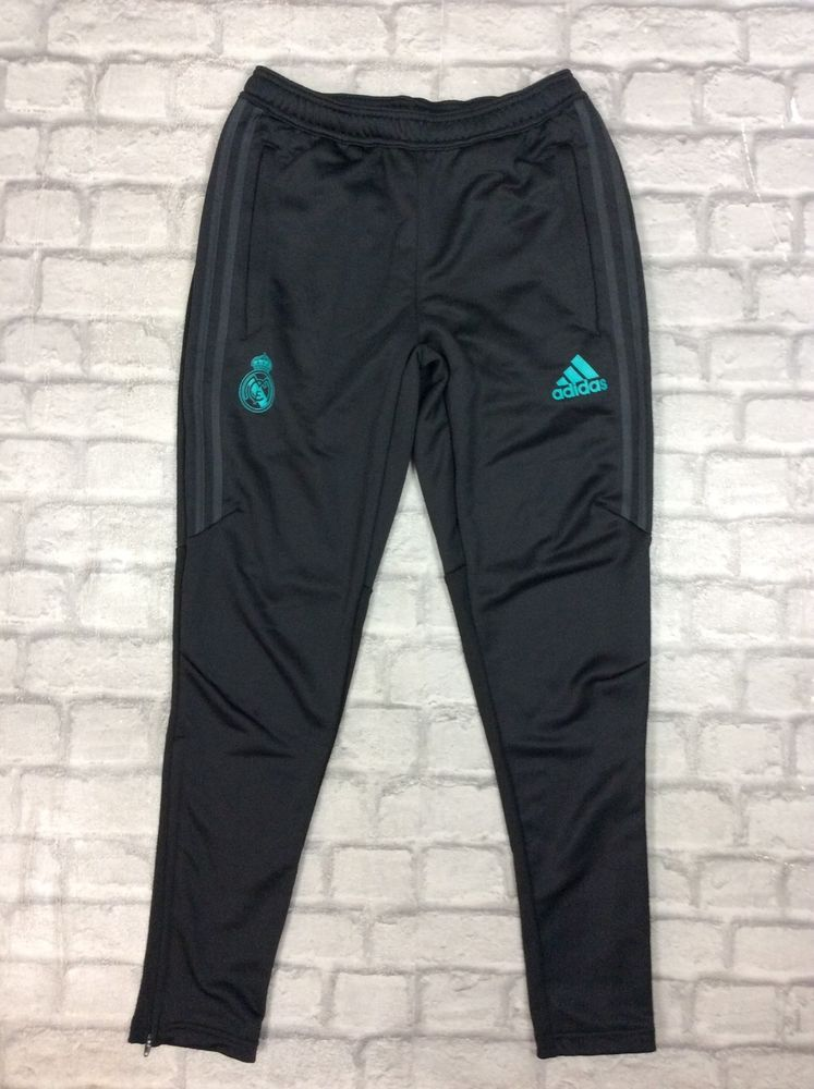 mecanismo respirar tarta  ADIDAS MENS UK S 2017-18 REAL MADRID WOVEN TRAINING PANTS BLACK GYM ACTIVE  FOOTY #fashion #clothing #shoes #accessories #menscl… | Training pants,  Adidas men, Pants