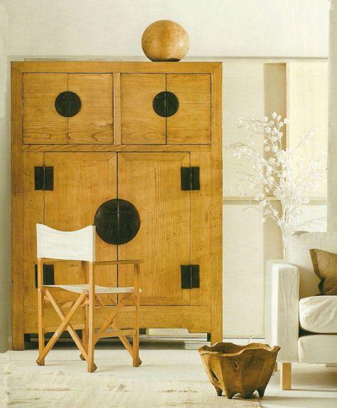 armarios chinos madera lavada - Muebles chinos | muebles orientales ...