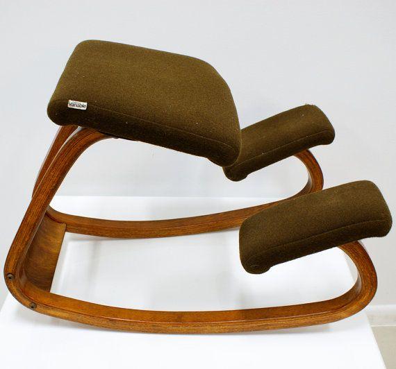 Vintage Balans Variable Ergonomic Danish Modern Chair