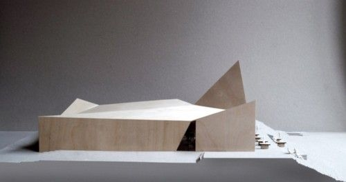 Architecture model by Reiulf Ramstad Arkitekter