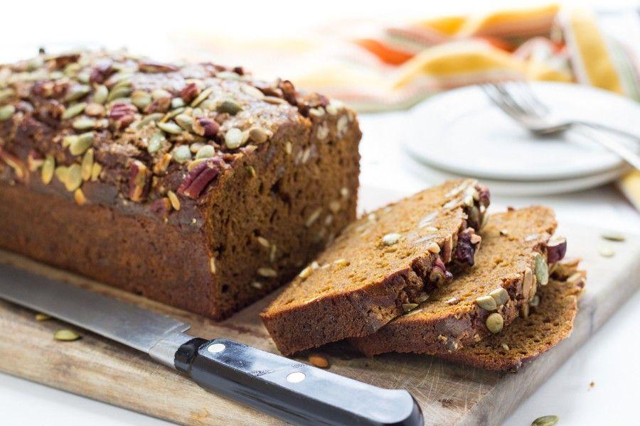 Gluten-Free Pumpkin Bread via @kingarthurflour