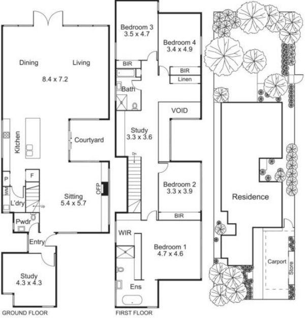 Moderne Architektur Australien Grundriss 27 Main Street Melbourne