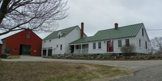 Hubka s big house little house back house barn for New england barns for sale