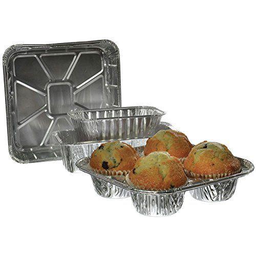 1 Lb Loaf Bakery Aluminum Pan 5 3 4 Cake Pans Microwave
