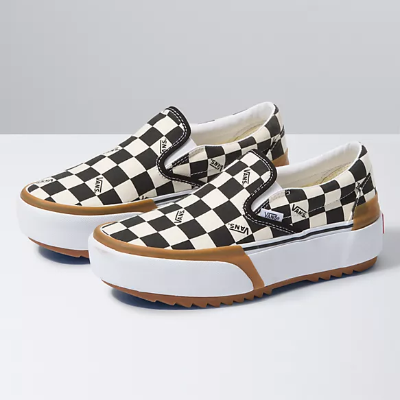 Checkerboard Slip-On Stacked   Shop