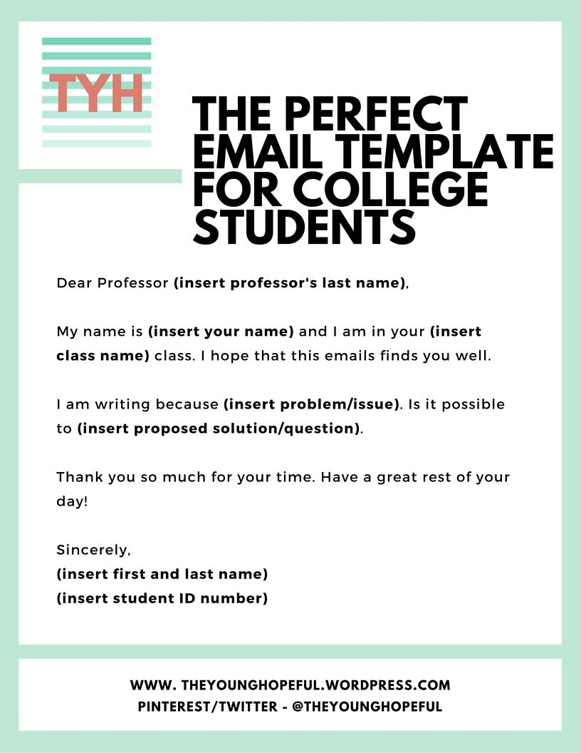 Use This Email Template To Engage With Professors To Improve Your
