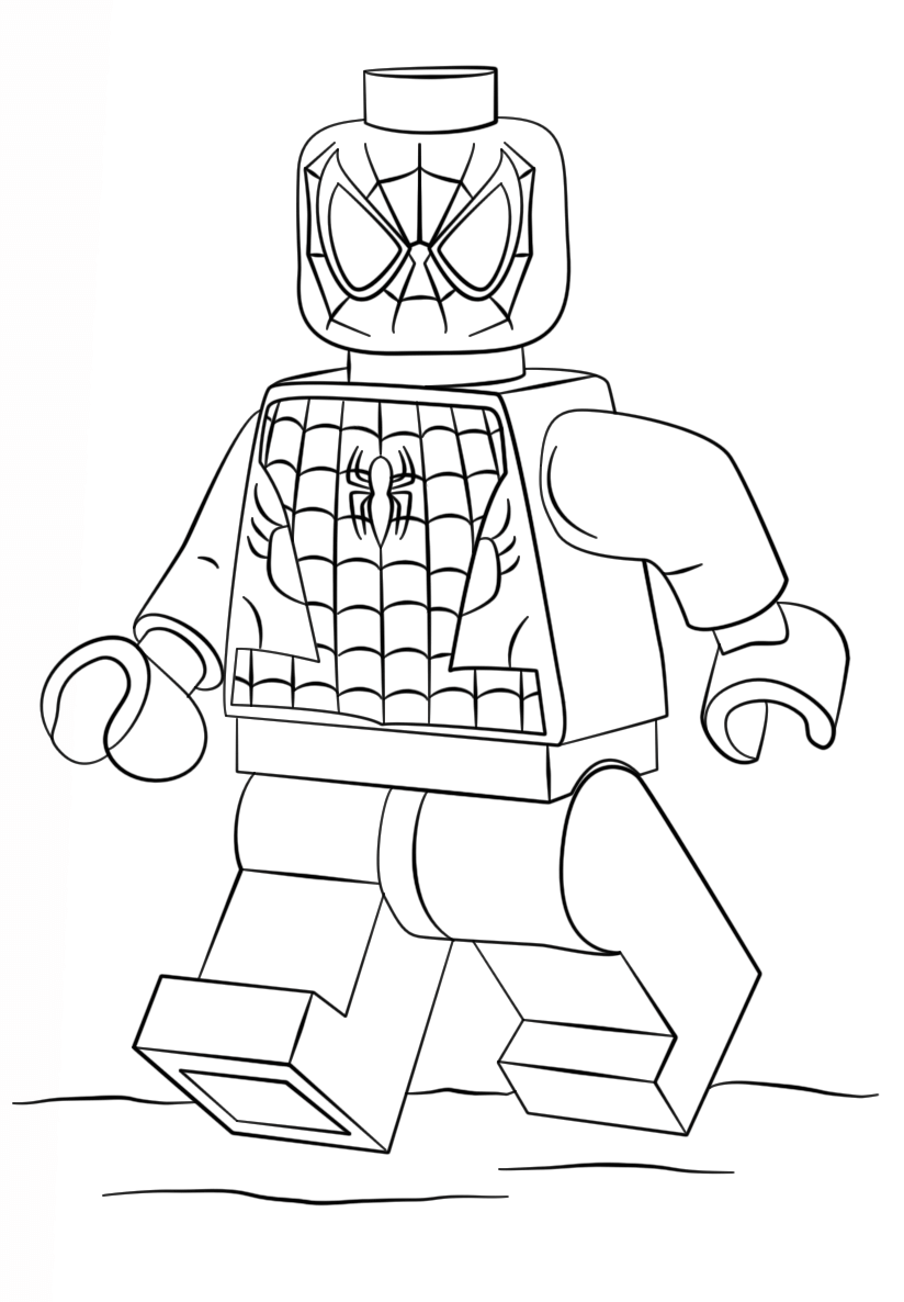 Lego Spiderman Ausmalbilder Kostenlos | Gabi | Pinterest | Spiderman ...