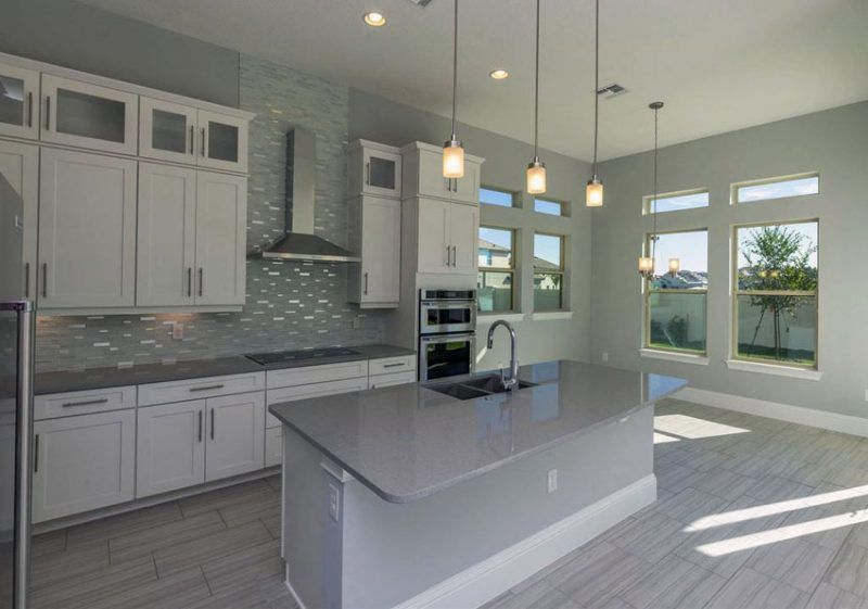 30 Gray And White Kitchen Ideas Gray And White Kitchen Kitchen Cabinets Grey And White Backsplash For White Cabinets