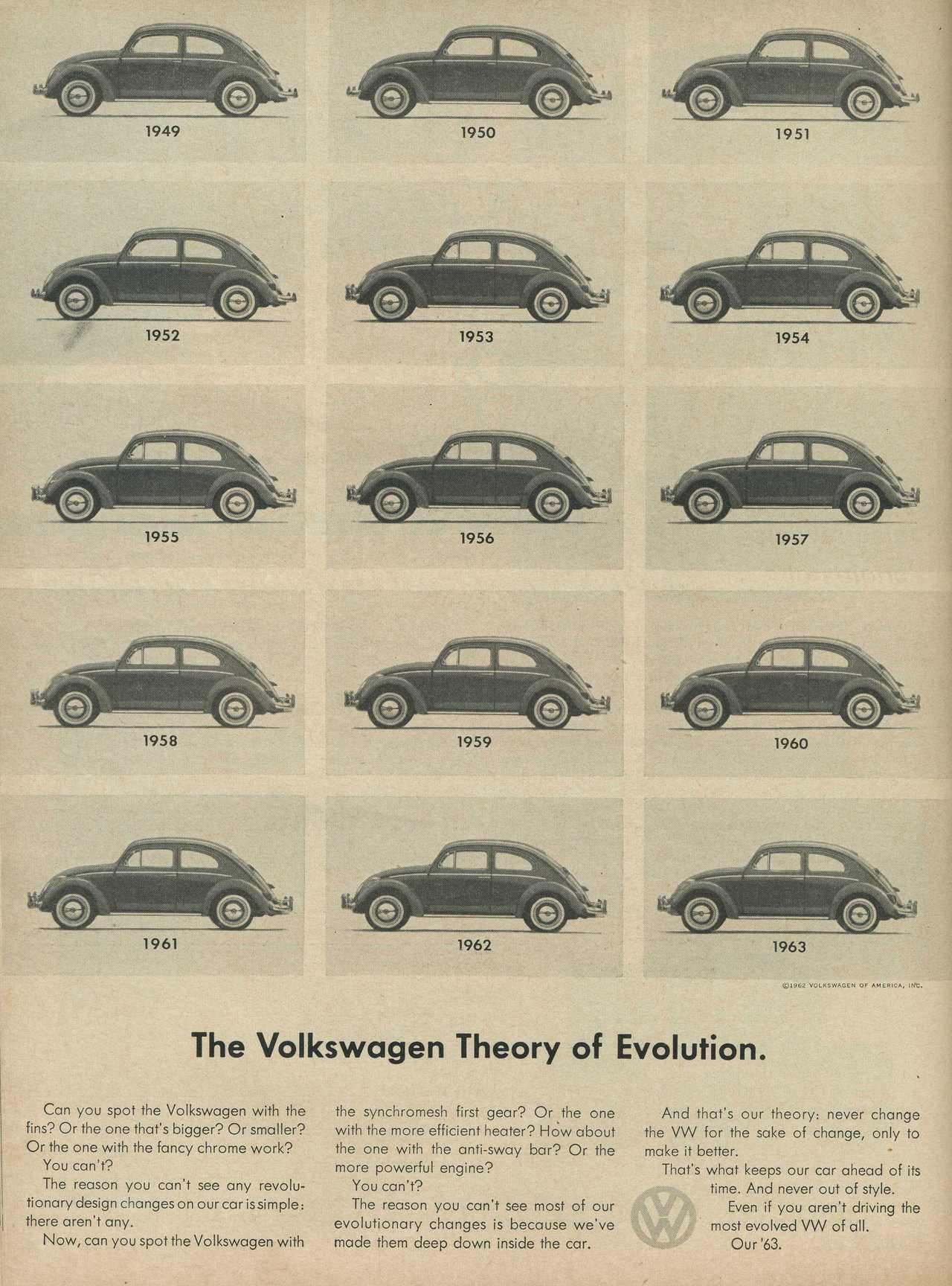 The Volkswagen Theory of Evolution Photo Picture | Advertising ...