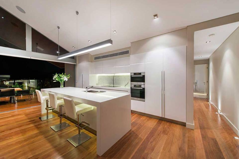 Ejemplos de cocinas elegantes, modernas y minimalistas cocina - cocinas elegantes