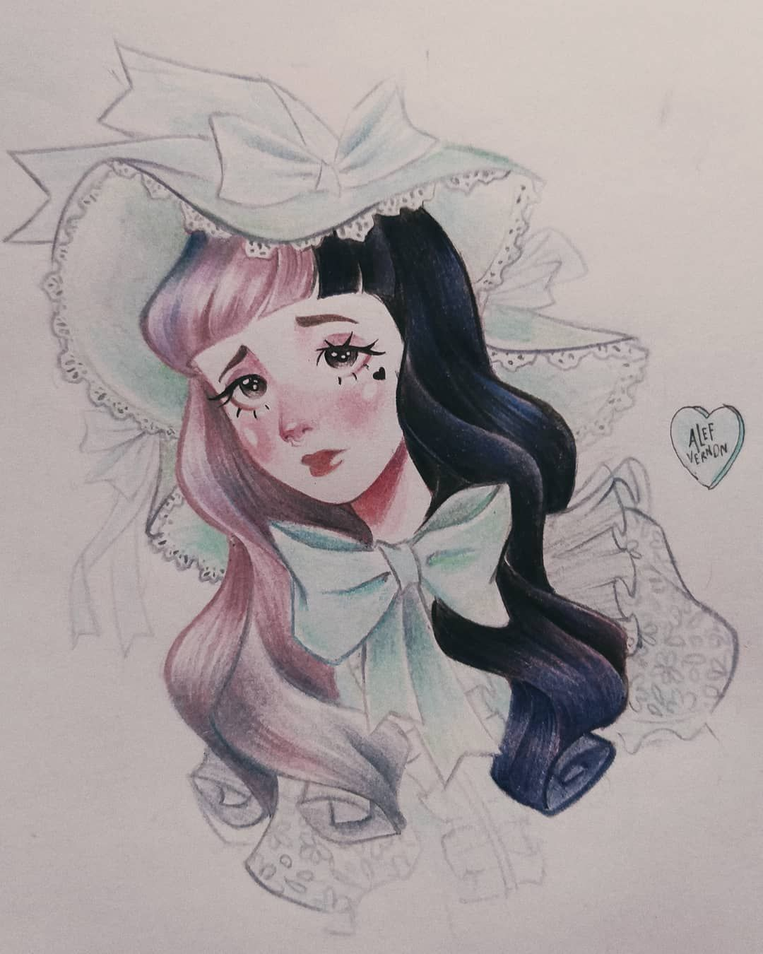Alef Vernon On Instagram Melanie On Episode 3 Recess I Love Everything About The Ep 3 So I Decided Melanie Martinez Drawings Melanie Martinez Melanie