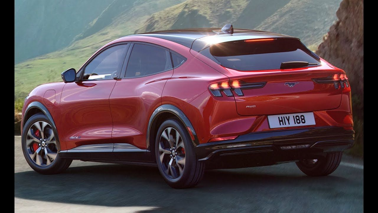 2021 Ford Mustang Mach E Suv Interior Exterior And Driving Ford Mustang Car And Motorcycle Design Mustang