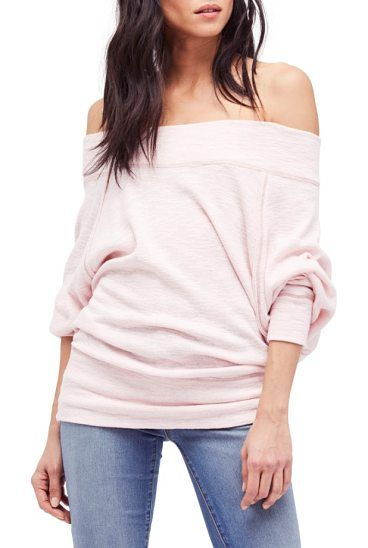 c093da99faea6 FREE PEOPLE Palisades Off The Shoulder Top. Club Style80s StyleMaternity  PicturesSleeveOutfitPitch PerfectSweaterFree PeopleCrop Tops
