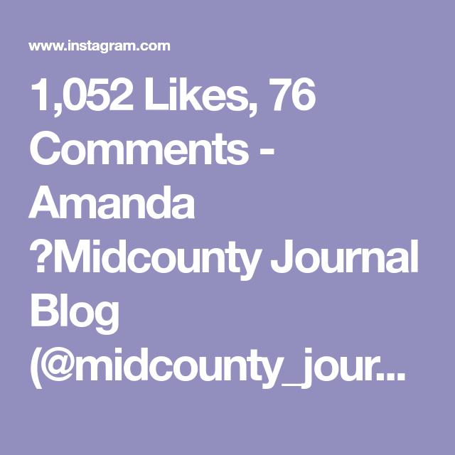 Amanda 🌿Midcounty Journal Blog
