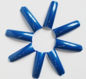 Blue Tip 550 Pcs/Bag. 0 thru 10 by Neil Tips. $17.90. Blue Tip 550 Pcs/Bag.. Natural curve, thin, easy apply with half-moon nail bed. Flexible, extremely durable, and easily attached to nails. Tips are sizes 0 thru.10. 50 pcs for each size. Total 550 Pcs in Bag.