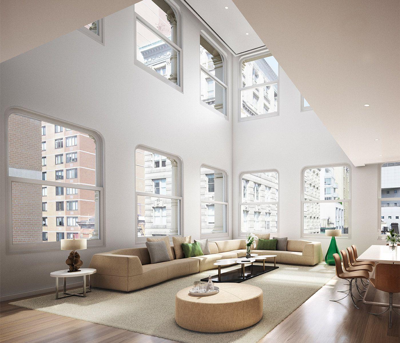 Shigeru Ban Redesigns Interiors For Iron Clad New York Apartment Block
