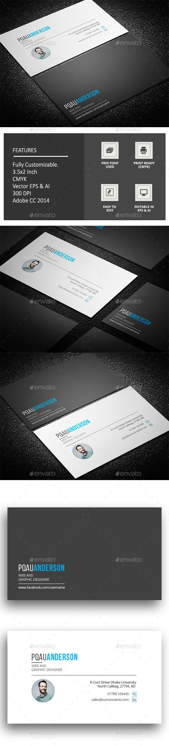 Pankha Business Card | Business cards, Corporate business and Ai ...