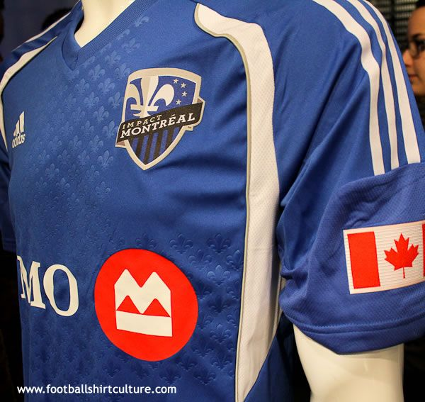 info for c82d2 fd0e7 Montreal Impact home kit | Sports Design | Mls soccer ...