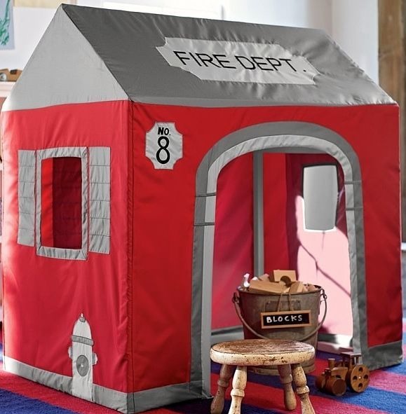 Remarkable Details About Pottery Barn Kids Firehouse Playhouse Cover Best Image Libraries Sapebelowcountryjoecom