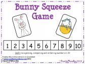 Bunny Squeeze Number Game product from overthemoonbow on TeachersNotebook.com