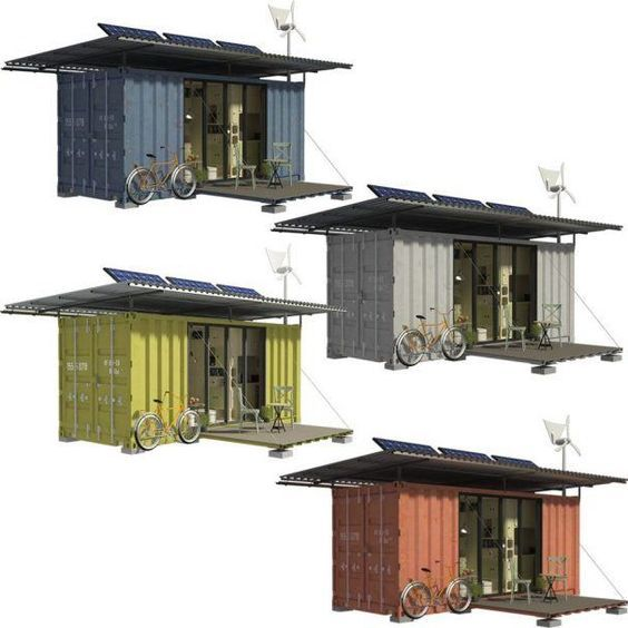 Shipping Container Cabin Plans Julia In 2020