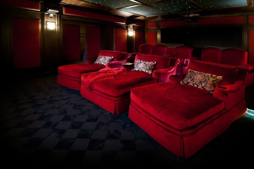 Delightful Home Theater Seating Design Gallery