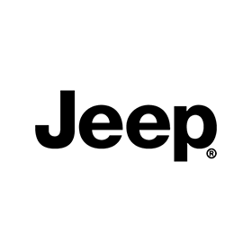 Black Jeep Logo Sticker