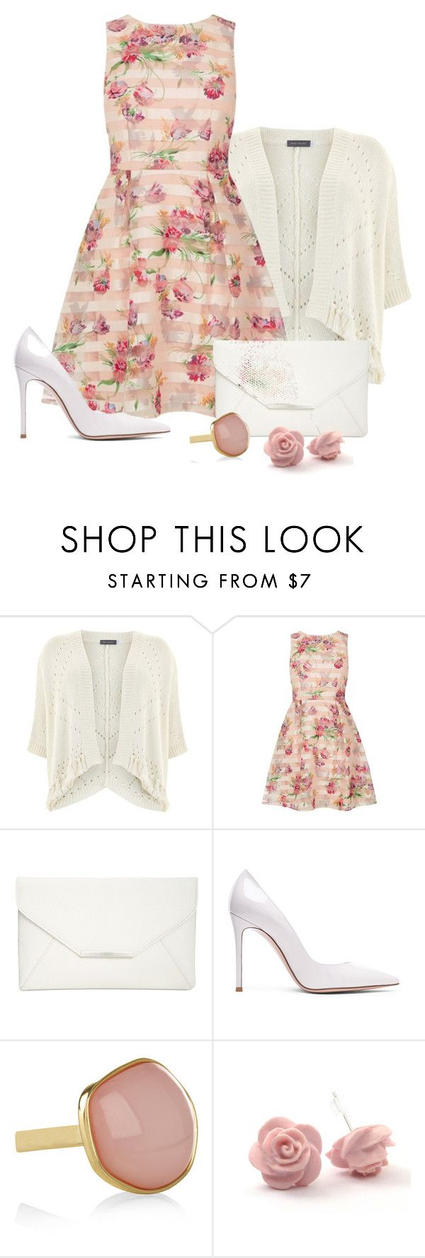 """""""Sin título #1938"""" by loveisforgirls ❤ liked on Polyvore featuring Mint Velvet, Oasis, Style & Co., Gianvito Rossi and Monsoon"""