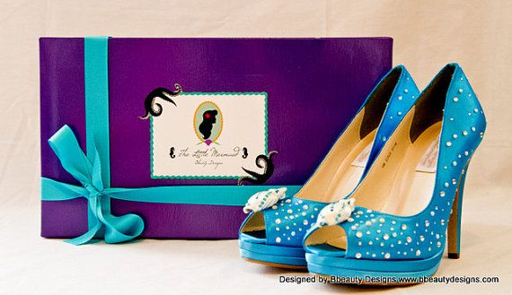 Ariel The Little Mermaid Couture Style Adult Pair by Bbeauty79, $149.95