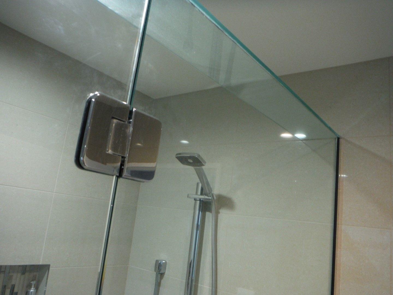 Frameless Shower Door Plastic Trim