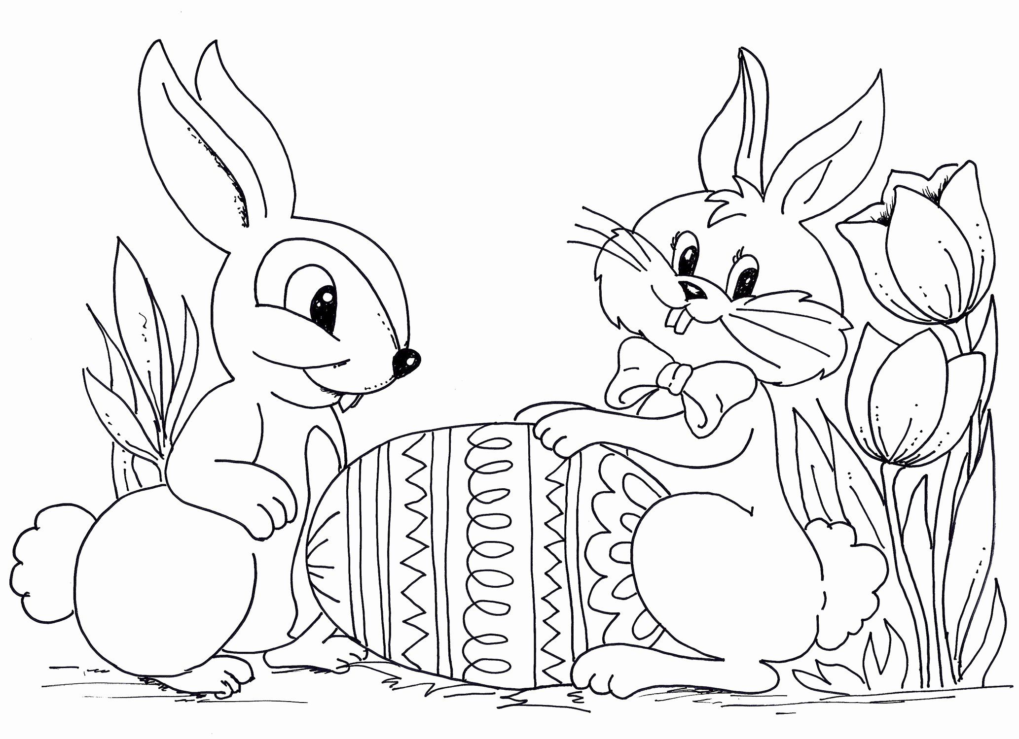 Easter Coloring Sheets for Kids in 2020 | Easter bunny ...