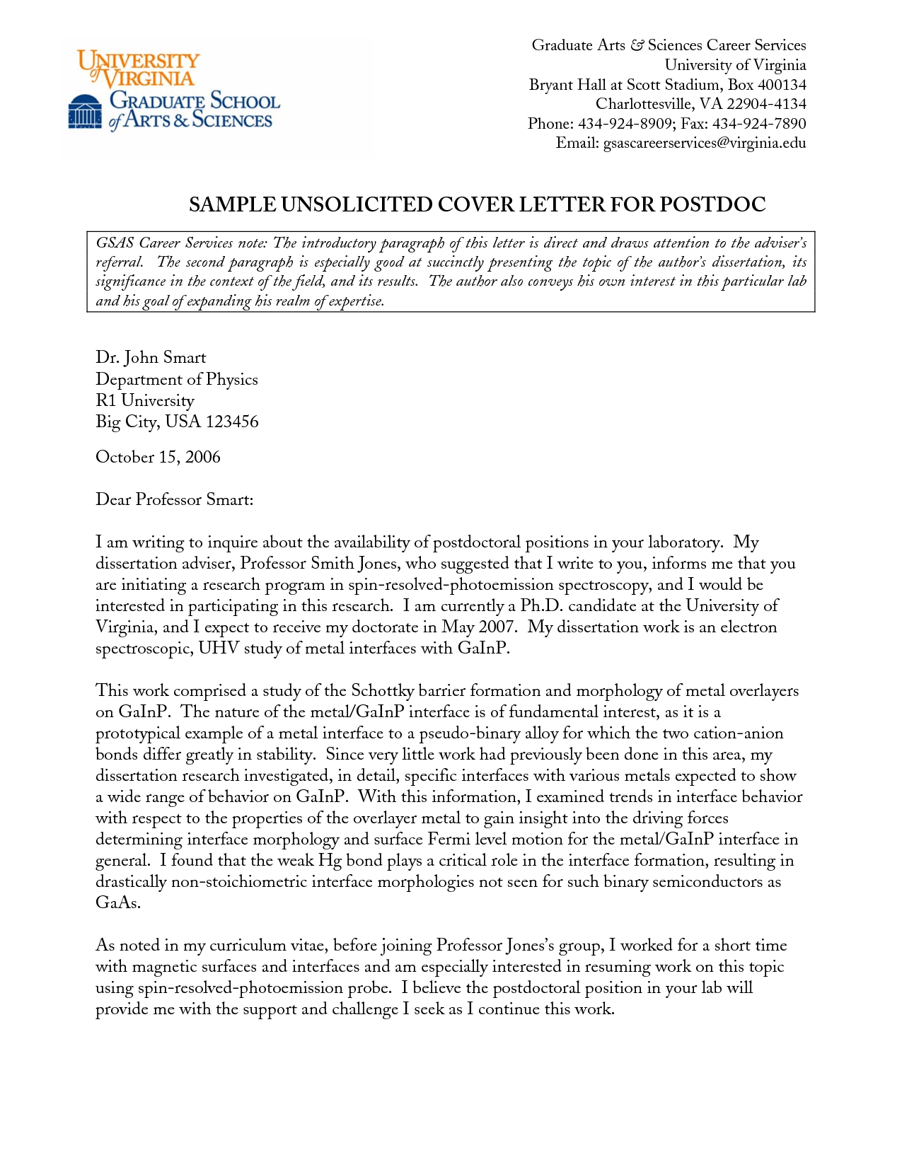unsolicited cover letter for fresh graduate 28 images