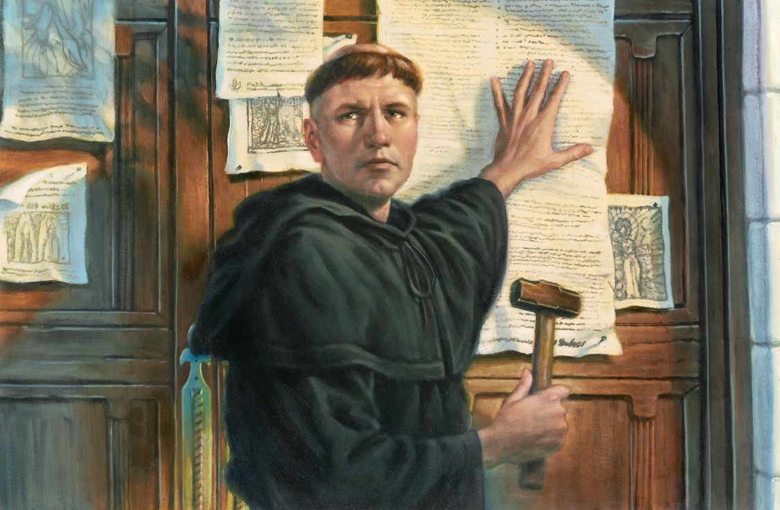 96 thesis of luther Martin luther's 95 theses by luther, martin and a great selection of similar used, new and collectible books available now at abebookscom.