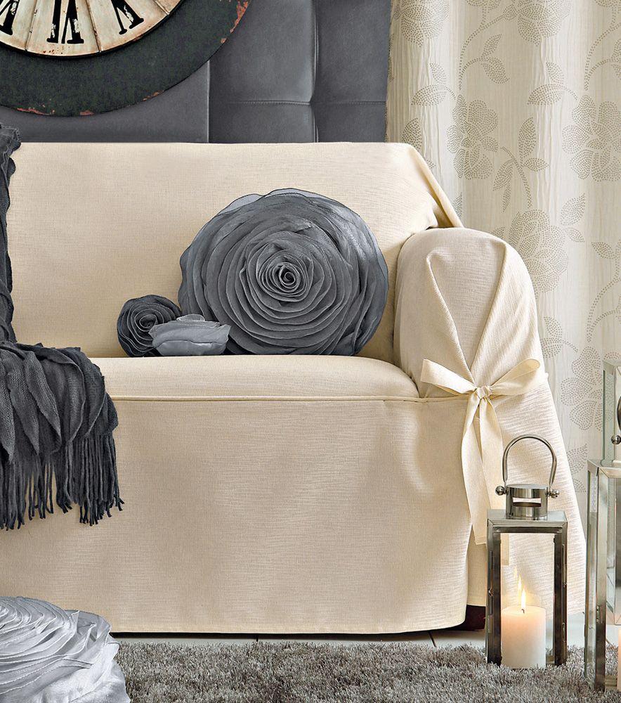 Funda de sofá y sillón loneta Beret Textil y Hogar 40 Venca