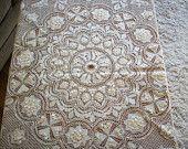 Antique maltese lace parasol cover 1800s breathtaking
